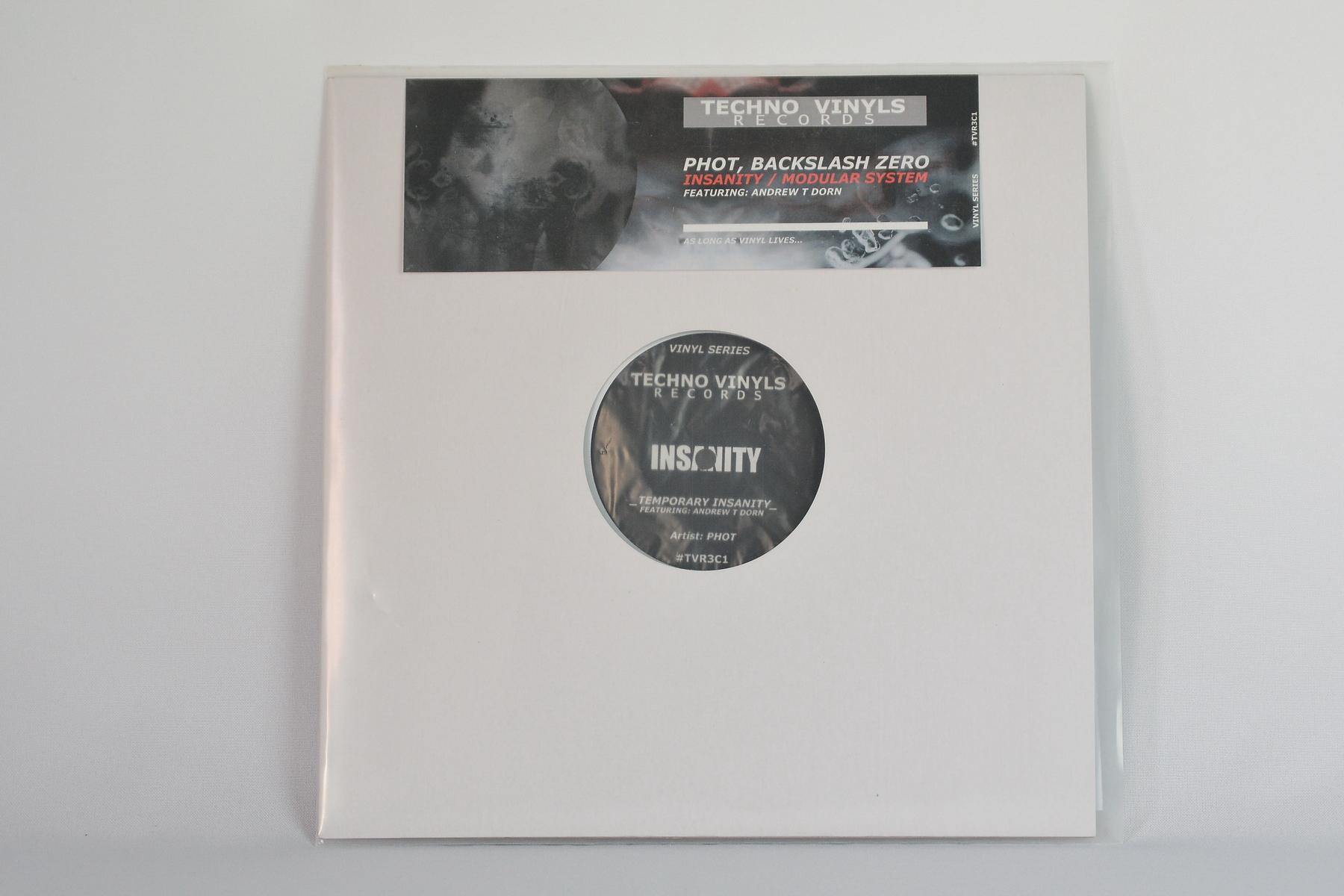 Phot, Backslash Zero – Insanity EP