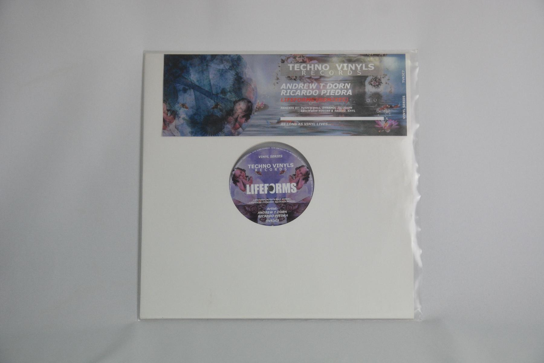 Andrew T Dorn & Ricardo Piedra – Lifeforms (Remixes) EP